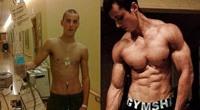 美国癌症少年健身四年战胜病魔