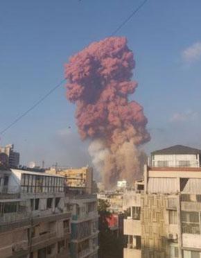 黎巴嫩首都爆炸已致78死4000伤!